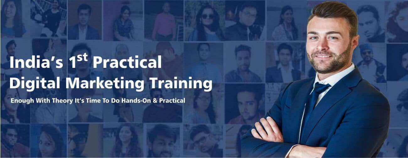 India's first Practical Digital Marketing Training Instistute