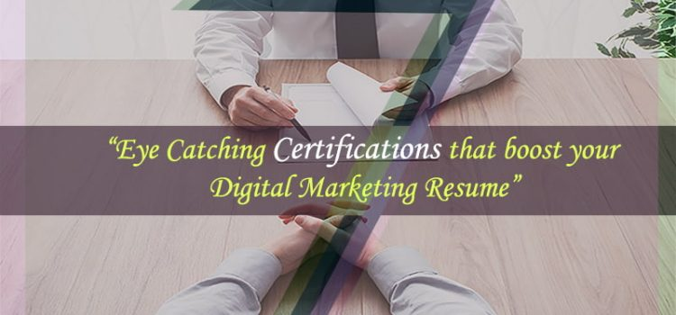 Top 7 Digital Marketing Certifications To Take Your Career To The Next Level
