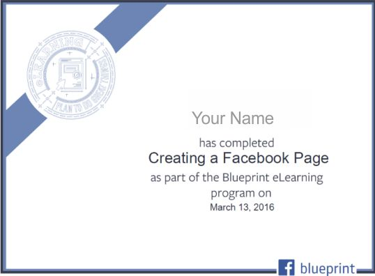 Top 5 digital marketing certifications to make you favorite amongst blueprint certification is amongst the top digital marketing certifications that are officially recognized by facebook and it enables the digital marketing malvernweather Gallery