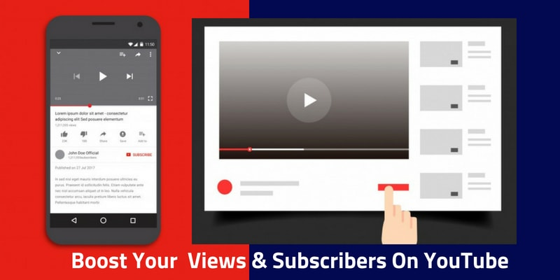 Boost Your Views & Subscribers On YouTube